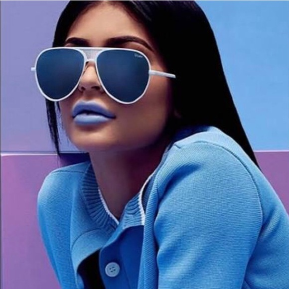 e42069156c02a KYLIE X QUAY ICONIC sunnies in White